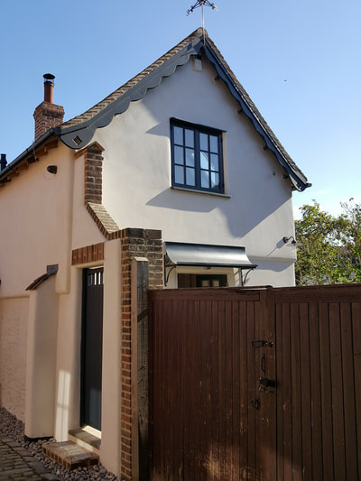 Photo of house in Henley town centre after refurbishment
