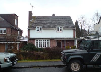 Photo of house in Henley before remodelling and extension