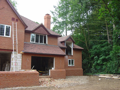 New detached replacement dwelling near Henley